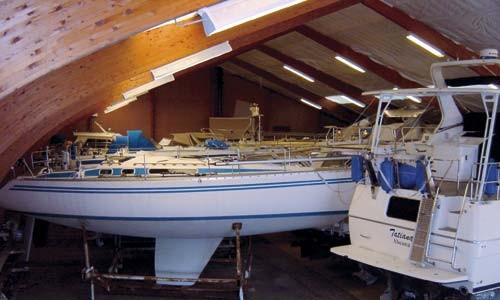 Opbevaring og værksted på dit bådeværft Sønderborg