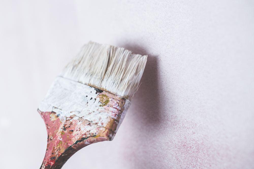 Sådan dækker du af, når du maler